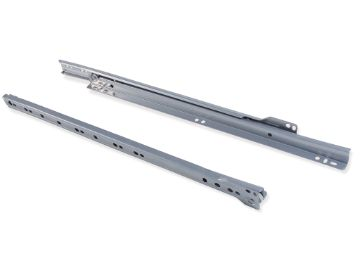 Set of ball bearing drawer runner T30 with partial extraction