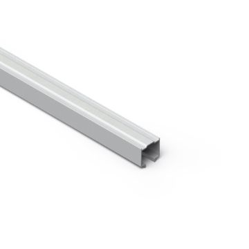 Upper rail for Twofold folding door system