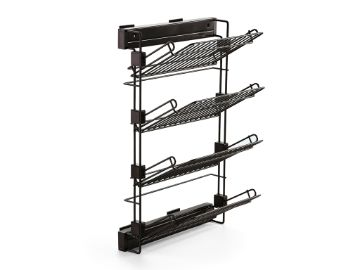 Emuca Moka pull out lateral shoe rack kit