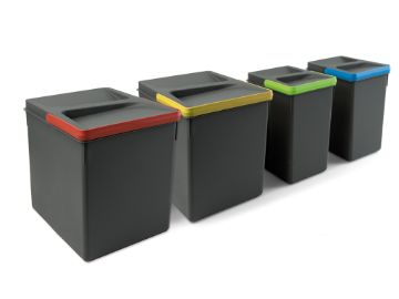 Emuca Recycle Containers for kitchen drawers