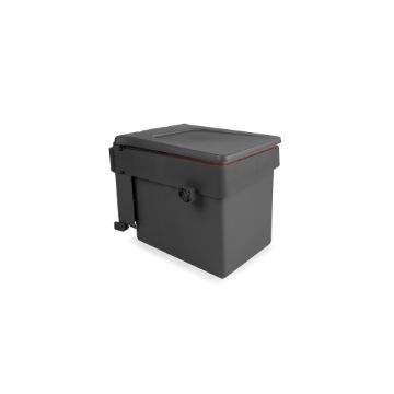 Emuca Recycle recycling bin for fastening to door with container 15 litres