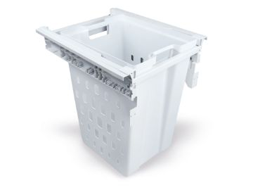 Laundry basket for laundry room