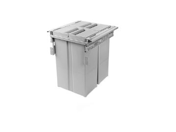 Waste bins for cabinet of 450