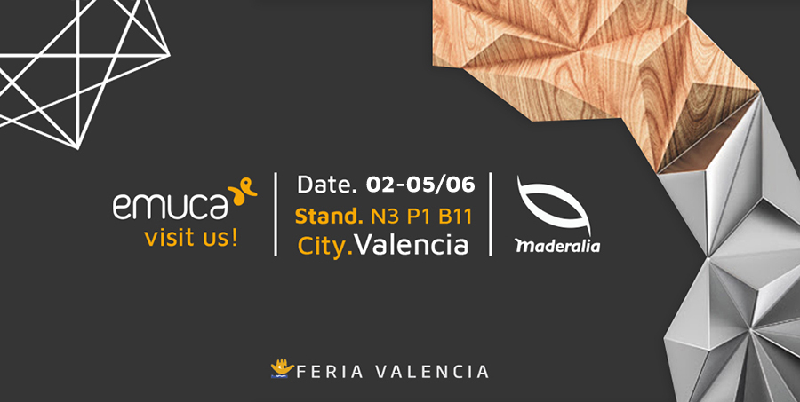 Emuca will present a stand full of novelties at Maderalia 2020