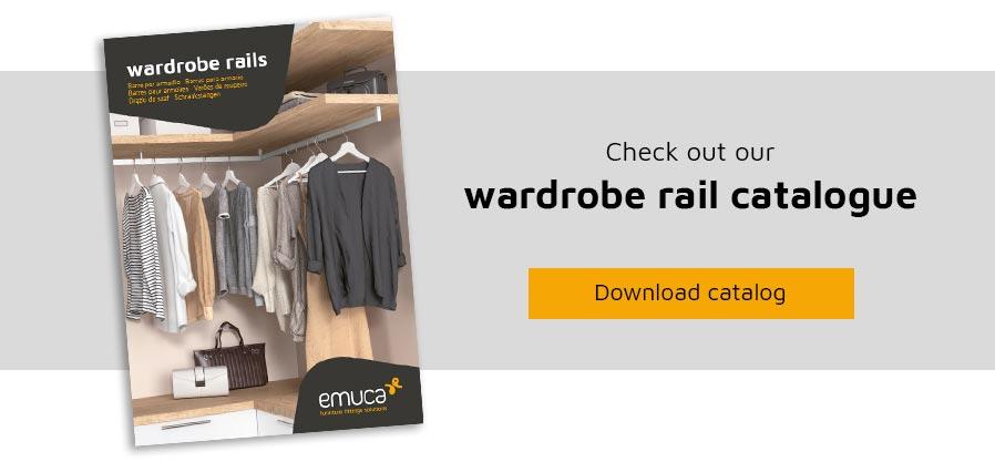 Werdrobe rails catalogo Emuca